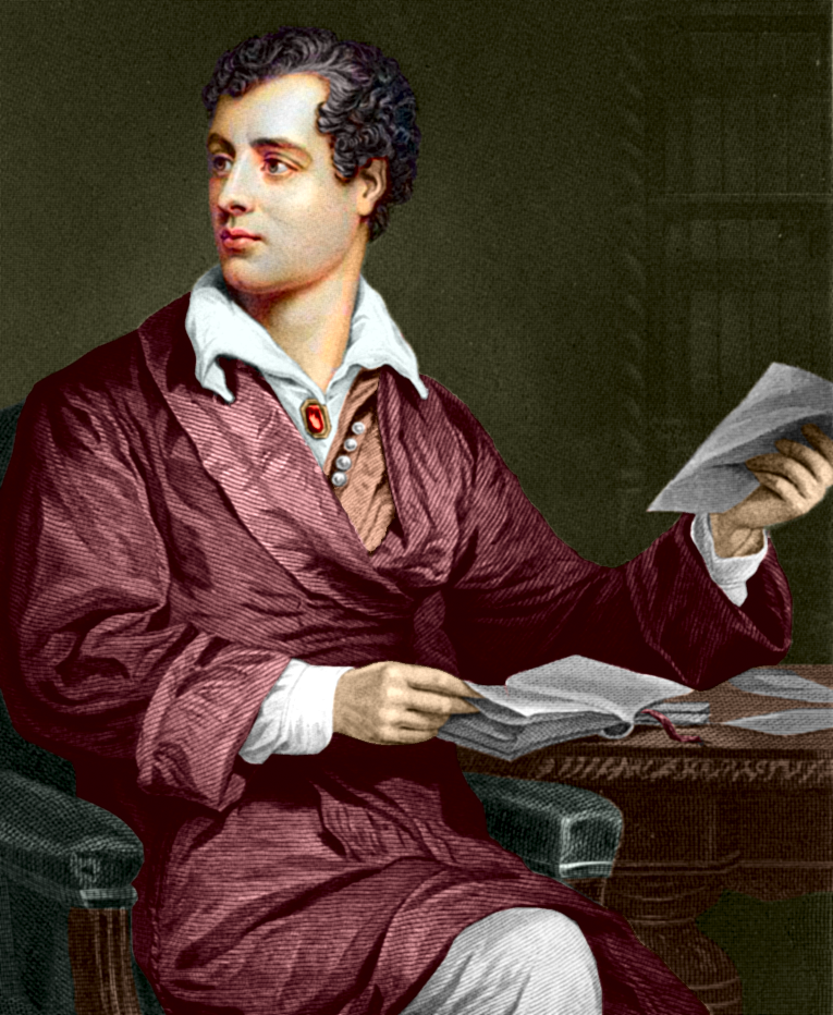 English poet, George Gordon (Lord) Byron image