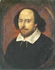 William Shakespeare, 1610, image