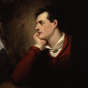 Portrait of Lord Byron by Richard Westall image