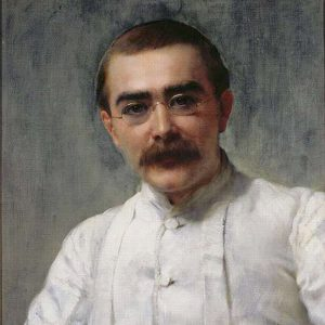 Portrait of Rudyard Kipling by John Collier image