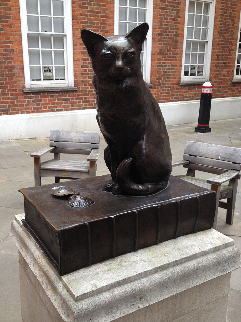 Dr Johnson's Cat Hodge, London, England image