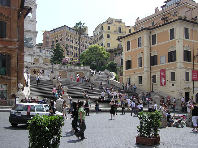 The Spanish Steps, Rome, Italy image