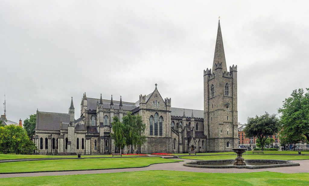 St Patrick's Cathedral Exterior, Dublin, Ireland image