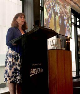 Susannah Fullerton presenting image