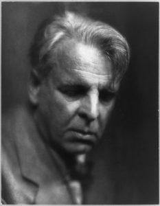 W.B. Yeats, 1933, by Pirie MacDonald image
