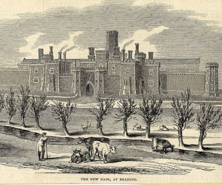 Reading Gaol in 1844