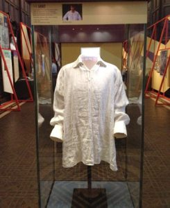 White shirt worn by Colin Firth