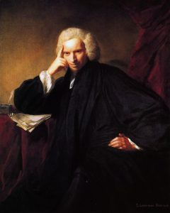 Laurene Sterne, by Joshua Reynolds