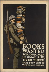 Books Wanted for our Men by Charles Buckles Falls