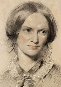 Charlotte Brontë, chalk, 1850.