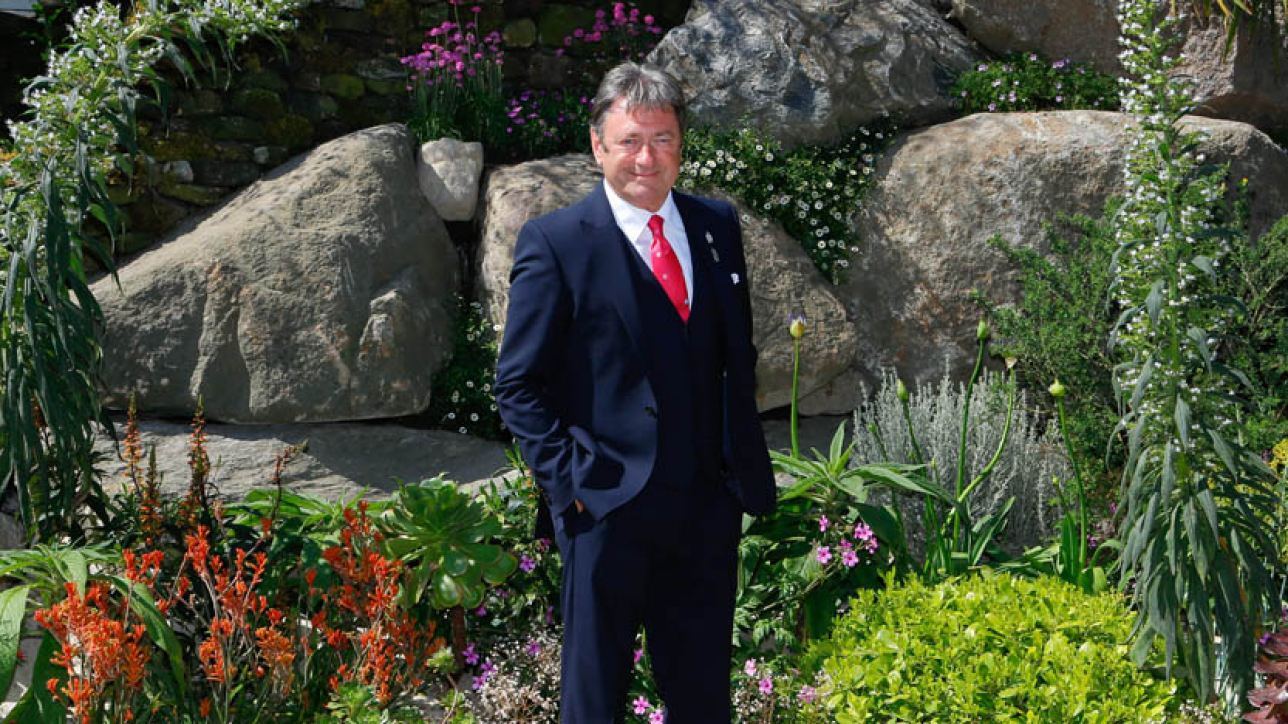 Alan Titchmarsh at the 2014 RHS Chelsea Flower Show