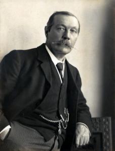 Arthur Conan Doyle By Walter Benington