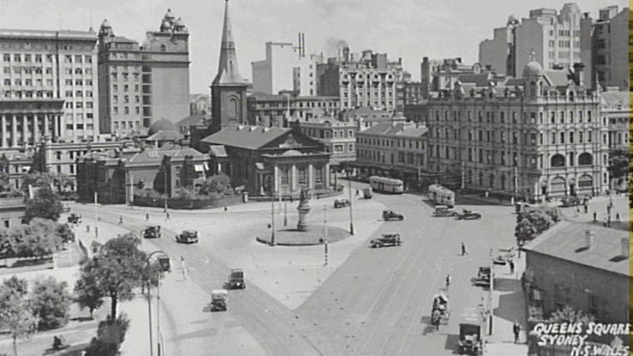 Queen's Square, Sydney c1930