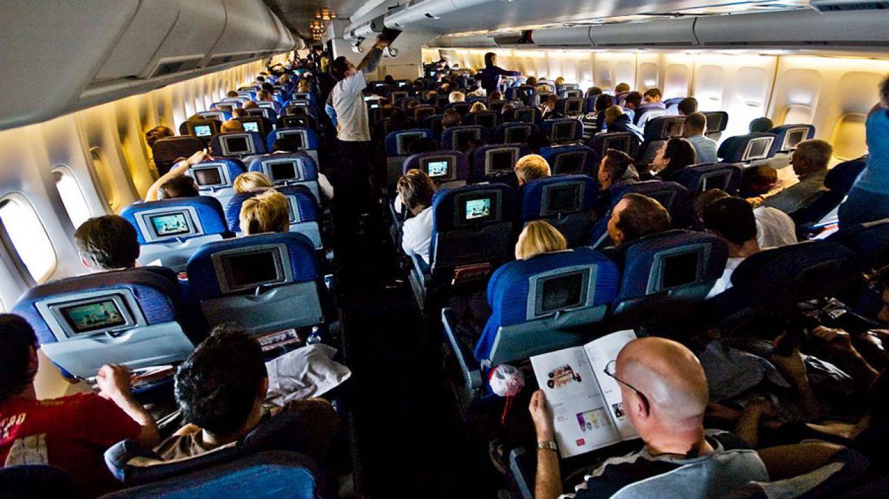 On board Flight QF2