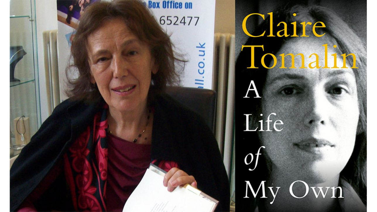 Claire Tomalin and her new biography