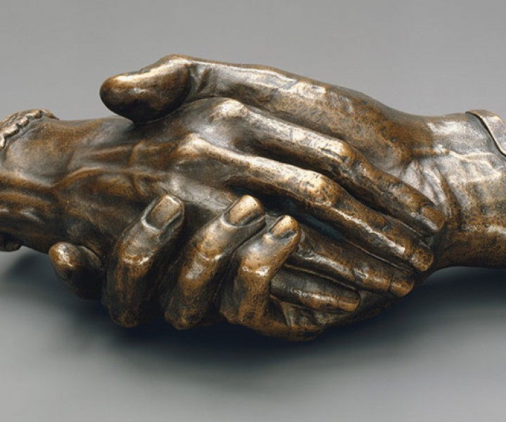 Clasped Hands of Robert Browning and Elizabeth Barrett Browning