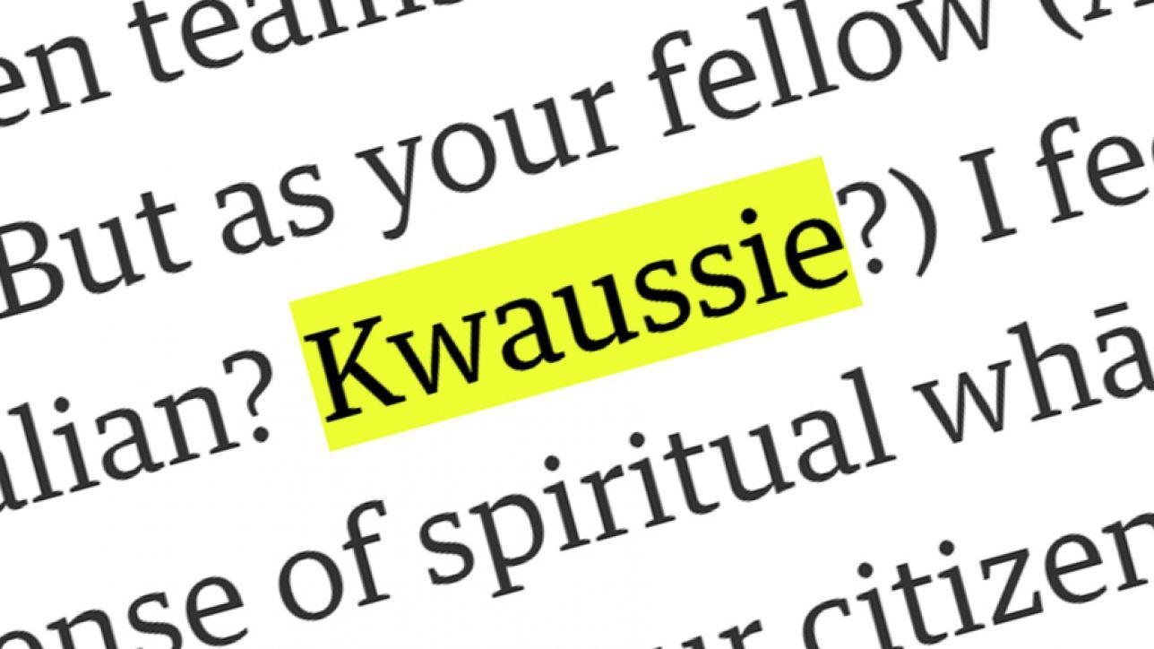 Kwaussie Graphic