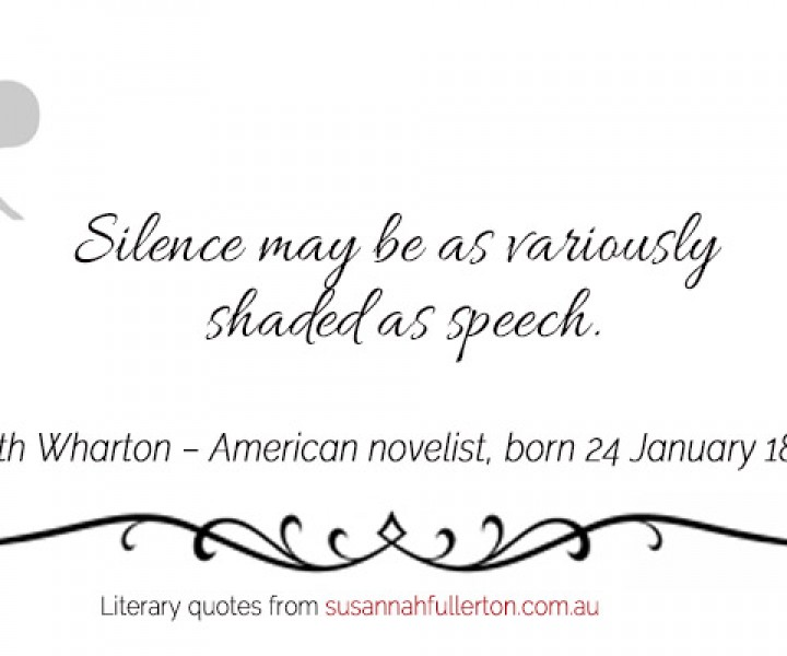 Edith Wharton quote by Susannah Fullerton