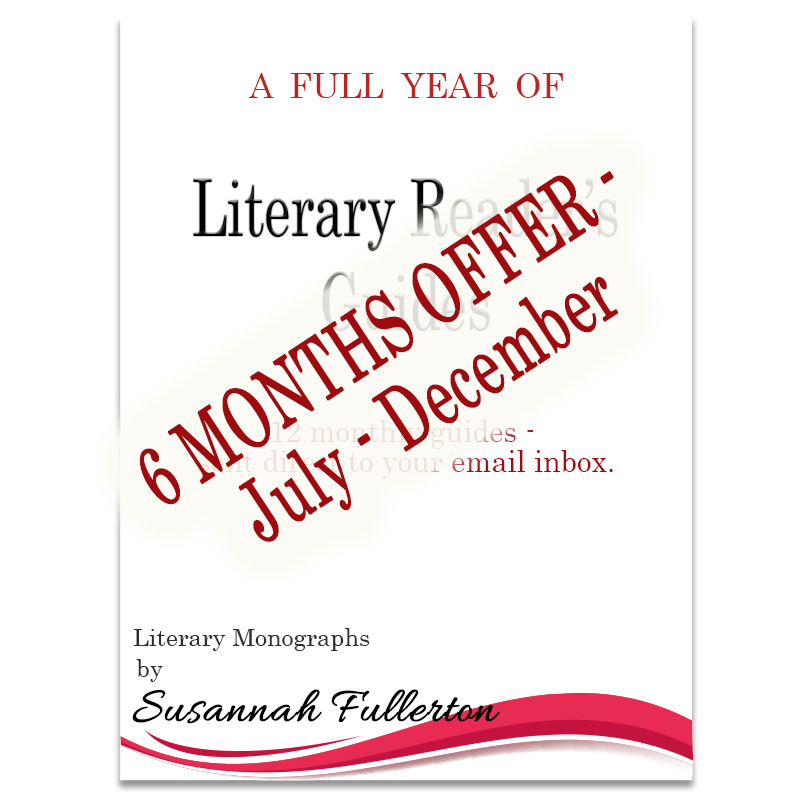 Half A Year of Literary Reader's Guides
