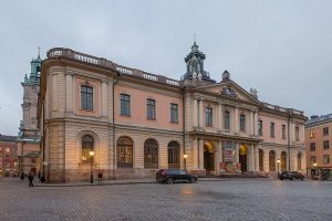 The Nobel Museum and the Nobel Library, Stock Exchange Building, Stockholm.