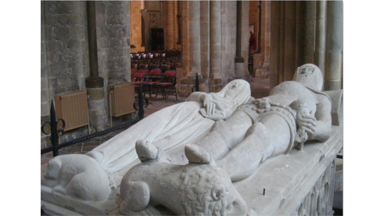 Arundel Tomb in Chichester Cathedral,