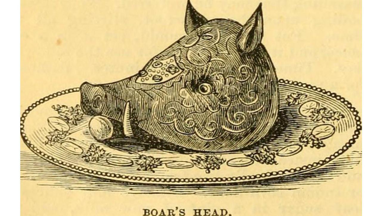 Boar's Head Boiled