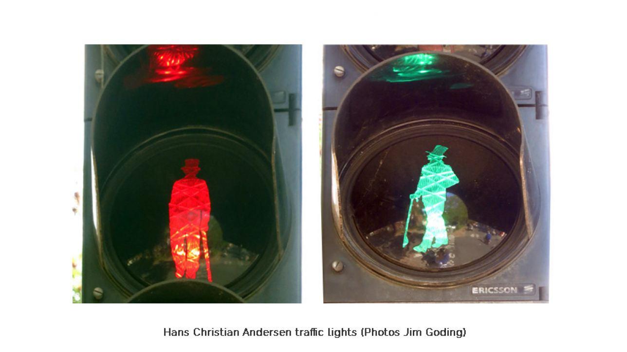 Hans Christian Anderson traffic lights