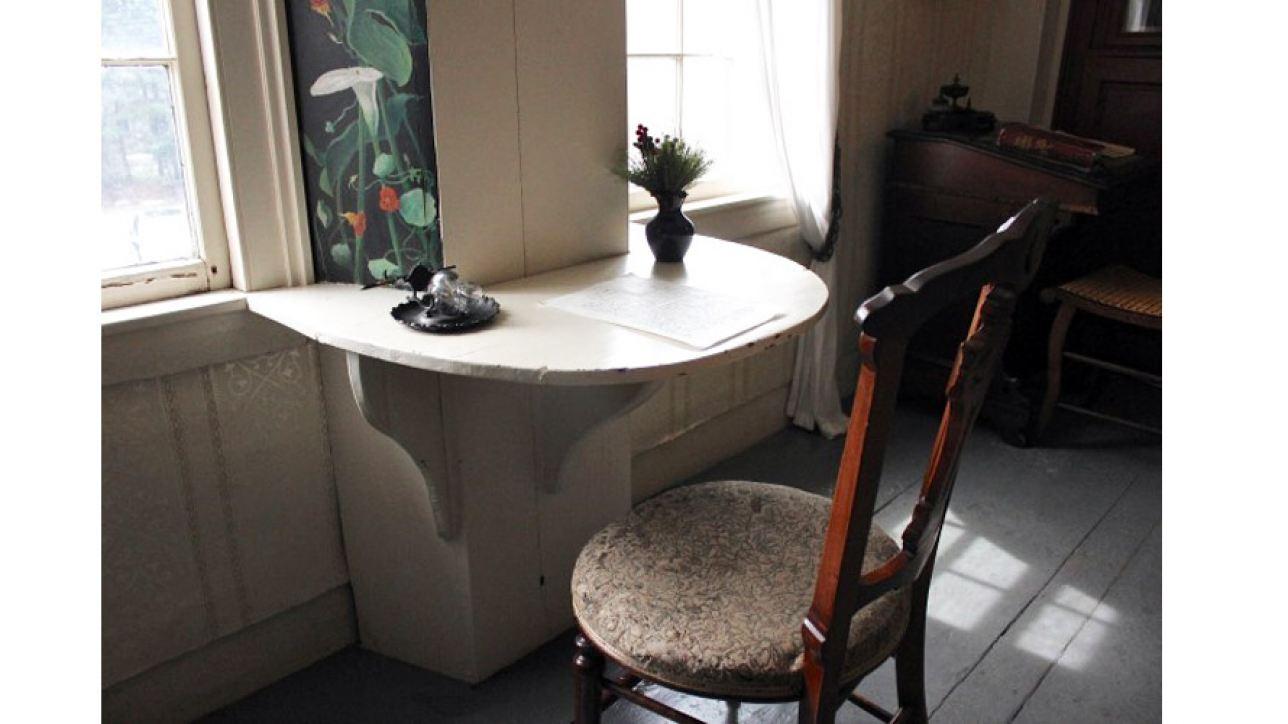 Louisa May Alcott's desk