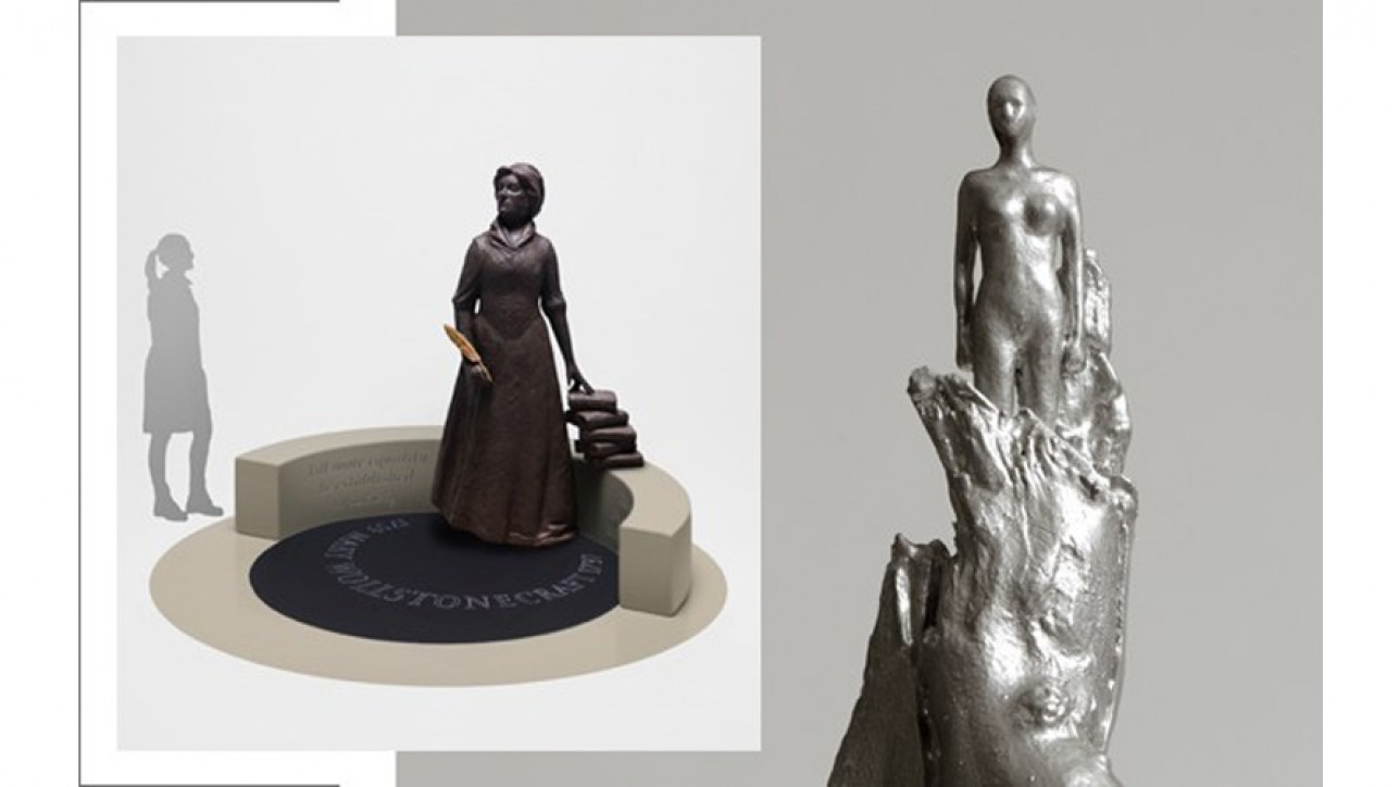 Competing designs for the Mary on the Green sculpture campaign. index.shtml