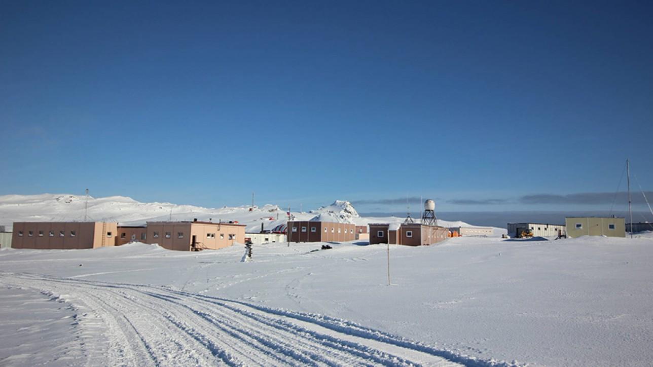 Bellingshausen Base, Antarctica.