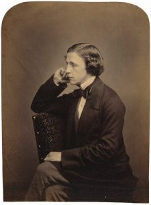 Lewis Carroll in 1855