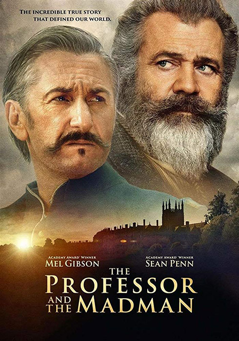 The Professor and the Madman (2019) poster