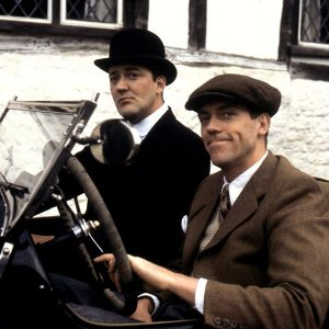 Stephen Fry and Hugh Laurie in Jeeves and Wooster, 1990 Granada Television adaptation,