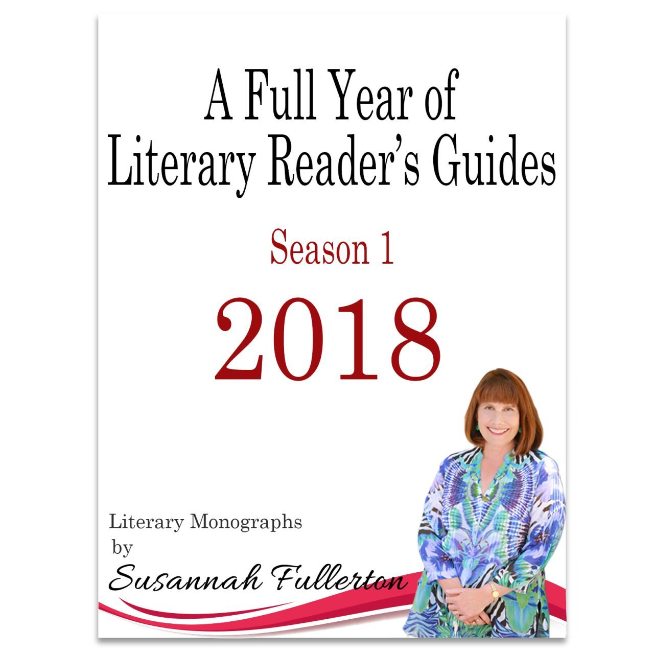A Full Year of Literary Reader's Guides 2018