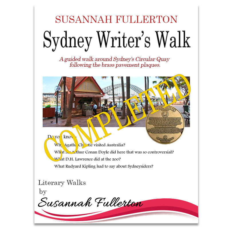 Sydney Writers Walk