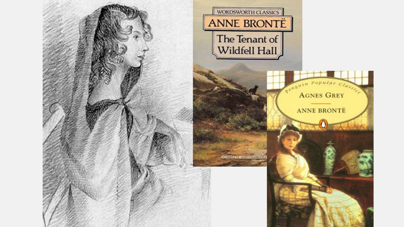 Anne Brontë and her books